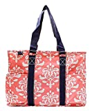 NGIL Zippered Caddy Tote Bag