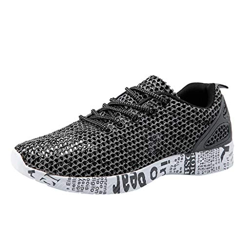 Dream_mimi Men's Quick Drying Water Shoes Lightweight Aqua Shoes for Sports Outdoor Beach Pool Exercise