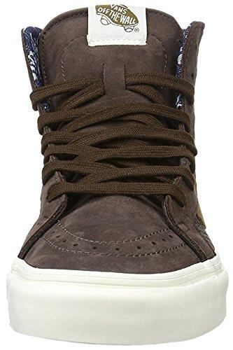 Vans U Sk8-Hi Zip Ca, SK8-HI Ca Mixte Adulte Leather/Nubuck