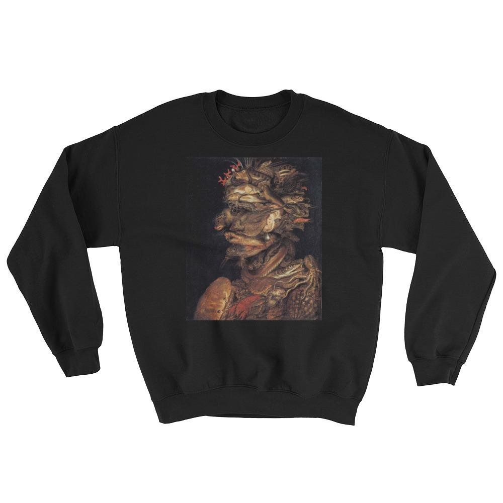 J and P Enterprises Giuseppe Arcimboldo Four Elements Water Sweatshirt