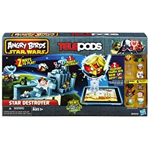 Angry Birds Star Wars Telepods Star Destroyer Set - 51GQ 2BRumqdL - Angry Birds Star Wars Telepods Star Destroyer Set