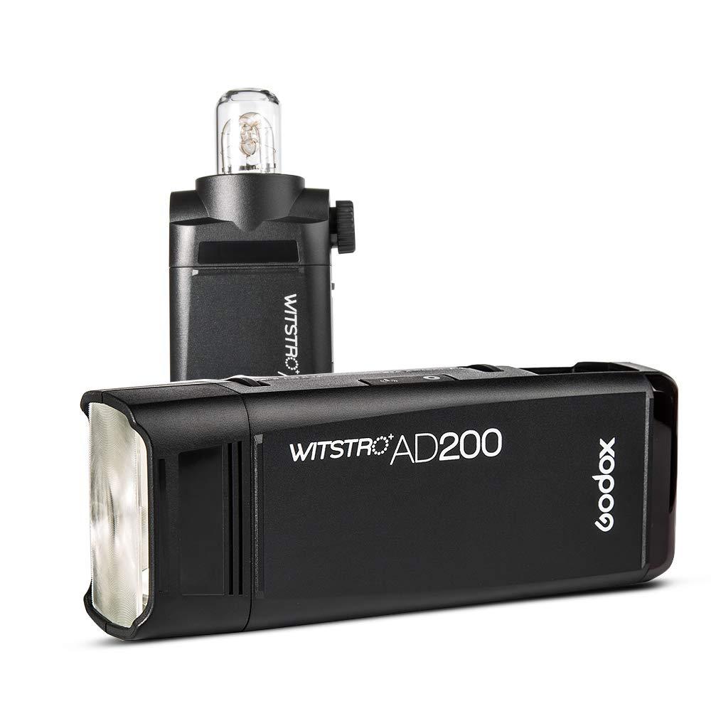 Godox AD200 TTL 2.4G HSS 1/8000s Pocket Flash Light Double Head 200Ws with 2900mAh Lithium Battery Flashlight Out Door Flash by Godox (Image #4)
