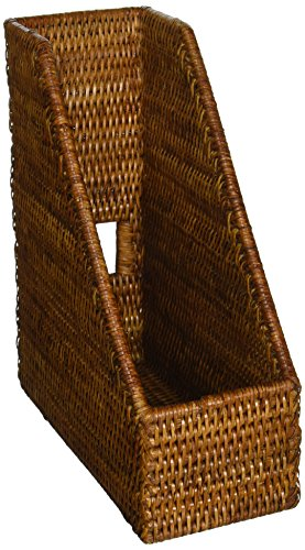 (KOUBOO La Jolla Rattan Magazine File, Honey-Brown)