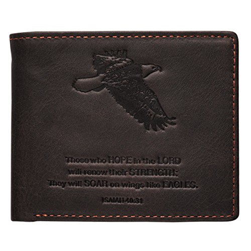 Brown Genuine Leather Wallet Isaiah product image