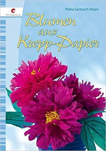 Blumen Aus Krepp Papier 9783838833569 Amazon Com Books