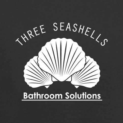 Flight Solutions Red Three Seashells Bag Retro Dressdown Bathroom Black qwAXB7v