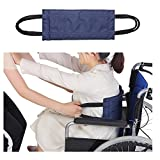 Transfer Belt Sling Patient Lift Board Medical Standing Assist Equipment Transferring Turning Handicap Bariatric Patient Sliding Nursing Belt for Wheelchair, Car, Bed, Chair (Blue)