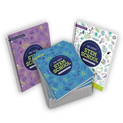 Profesor de educación Stem Bulk Bundle 15Tallo revistas/workbooks. 1tallo planificador y 1de tallo Planes de Profesor...