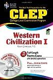 CLEP Western Civilization I w/ CD-ROM