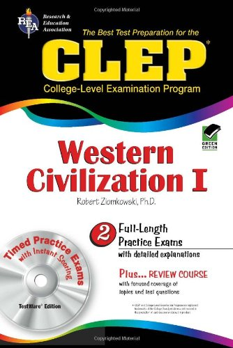 CLEP Western Civilization I w/ CD-ROM (CLEP Test Preparation)