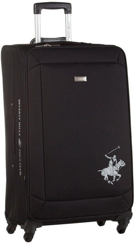 Beverly Hills Polo Club Ultralight Maleta, 76 cm, 90 litros, Negro ...