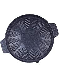 Cook N Home Style 32cm Stovetop grill Korean BBQ, Black