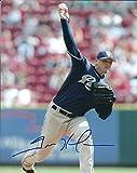Autographed Trevor Hoffman 8x10 San Diego Padres Photo