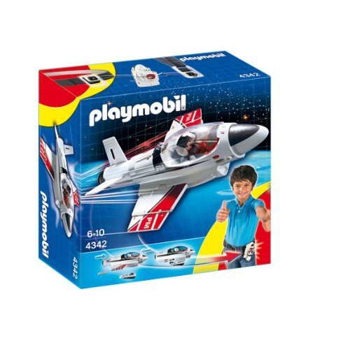Playmobil 4342 Turbojet to Go (Playmobil Bike Quad)