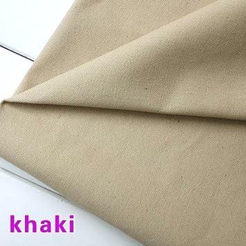 Amazon.com: Bolsa de lona para algodón pato tela tela mantel ...