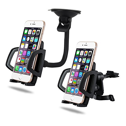 [NEW] Car Mount Holder, Tooba-Z 2 in 1 - Why Doesnt P