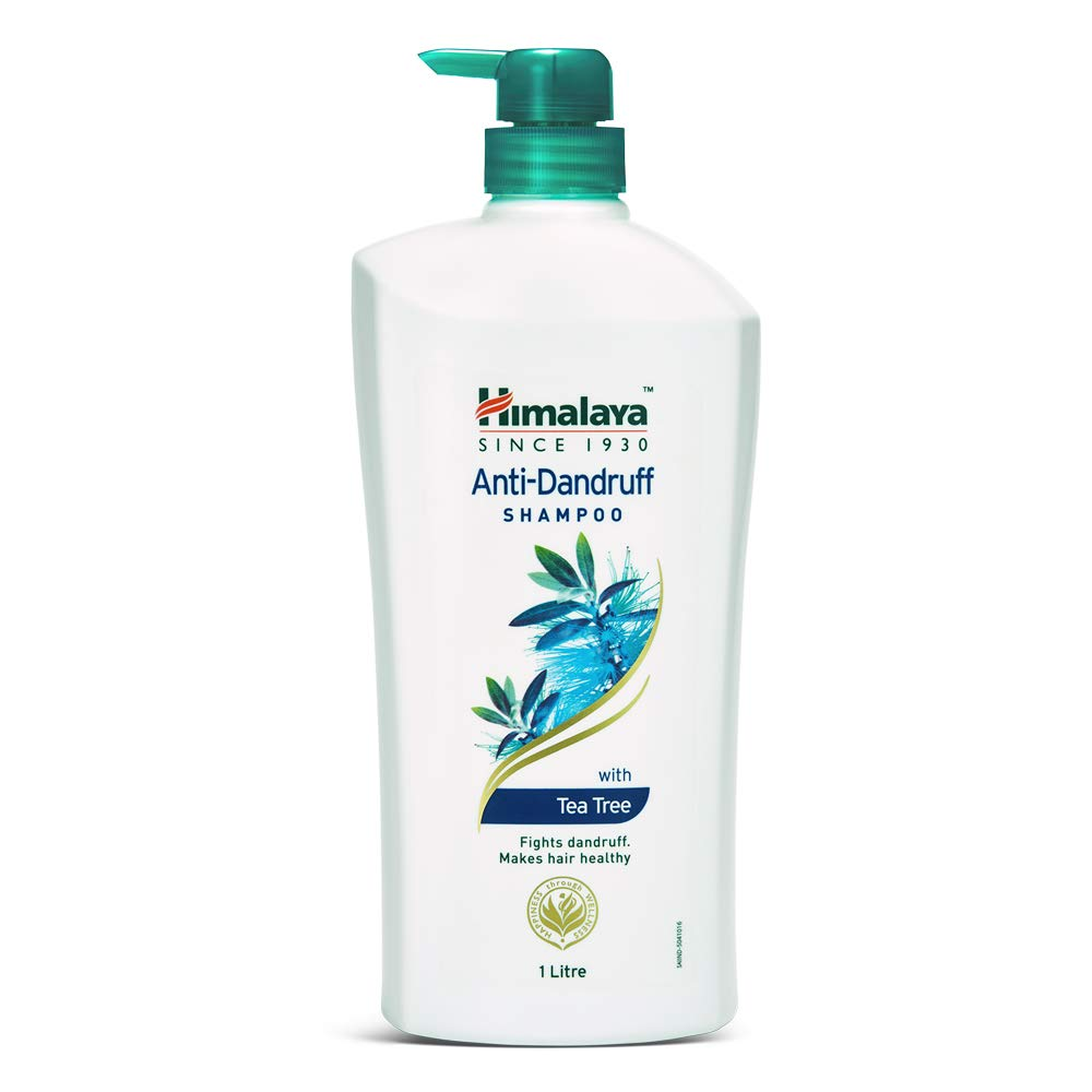 Himalaya Anti Dandruff Shampoo With Tea tree Removes dandruff & soothes sclap, 1 ltr
