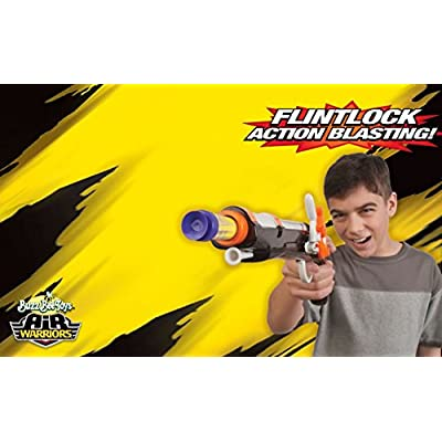 BuzzBee Pirate Flintlock Foam Dart Blaster: Toys & Games