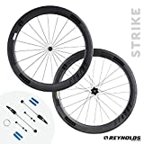 reynolds wheels - Reynolds Cycling - Strike Rim Brake Carbon Fiber Wheelset for Road Bikes, Shimano Compatible