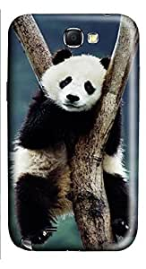 Samsung Note 2 Case China Panda In Tree 3D Custom Samsung Note 2 Case Cover