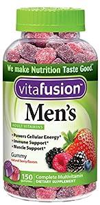Vitafusion Men's Gummy Vitamins, 150 Count by Vitafusion