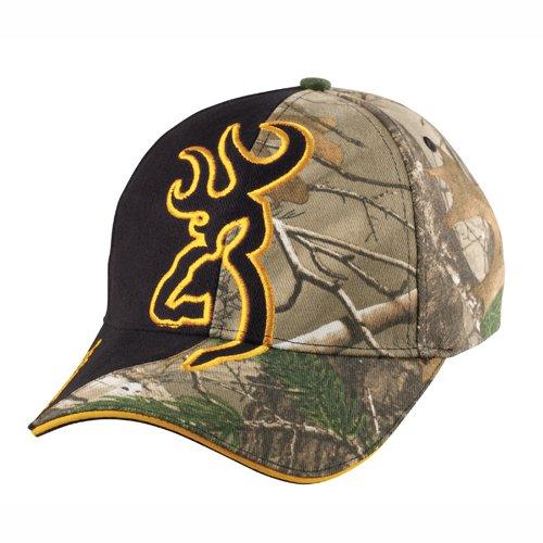 Browning Browning Big Buckmark Hat Realtree Xtra//Flash Black