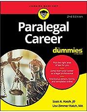 Paralegal Career For Dummies (For Dummies (Career/Education))