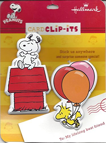 Snoopy Card Clip Its