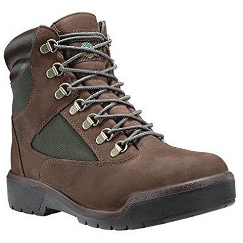 Timberland Mens 6-Inch Waterproof Field Chocolate Old River Boot - 9