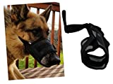 Muzzles for Dogs fits Small to Large Dogs, perfect to prevent biting, chewing, barking and licking. Adjustable for maximum comfort (XL)