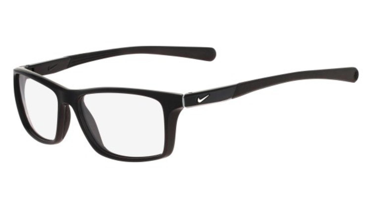 Eyeglasses NIKE 7087 014 BLACK-WOLF GREY by NIKE
