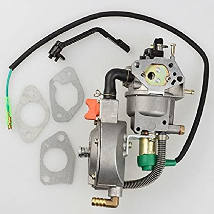 Amazon.com: Dual Fuel Junta para carburador para Honda GX270 ...