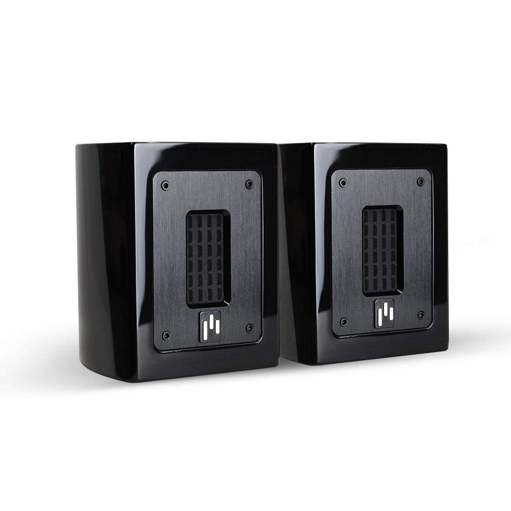 Aperion Audio Ribbon Super Tweeter for HiFi/Home Theater Speakers (High Gloss Black Pair)