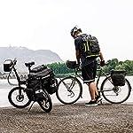 BAIGIO-Borsa-per-Bicicletta-3-in-1-Borse-Posteriori-Bici-Grande-Portapacchi-per-Biciclette-Impermeabile-con-Copertura-Antipioggia