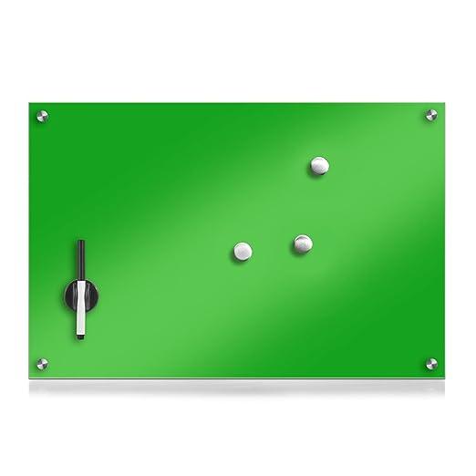 114 opinioni per Zeller 11651Lavagnetta in vetro, legno, Vetro, verde, 60 x 40 cm