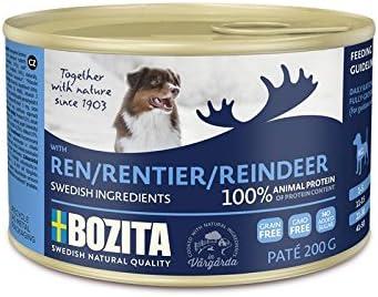 Bozita-Dog-Paté-Rentier-Hundefutter-Nassfutter
