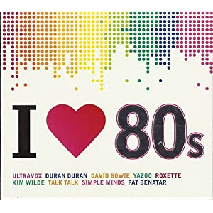 80s incl. I wear my sunglasses at nights (Compilation CD, 16 Tracks)