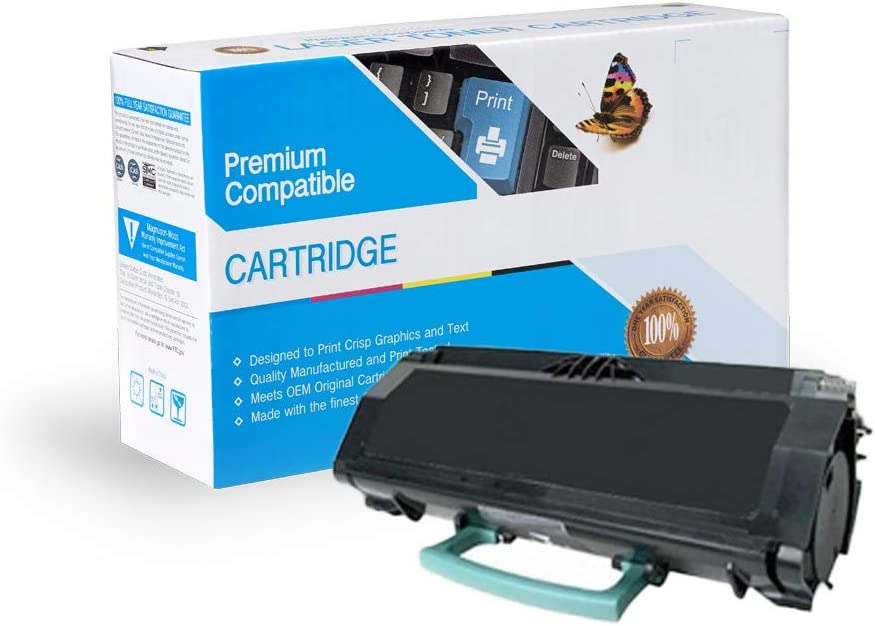 E462 E360H21A E360DN E460 Works with: E360 E462DTN Black E460DN On-Site Laser Compatible Toner Replacement for Lexmark E360H11A E460DW