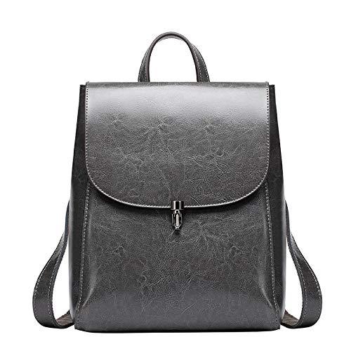 Size Borse Da Brown Spalla Gray Daypack colore Pelle One Dimensioni In Donna vOFOp