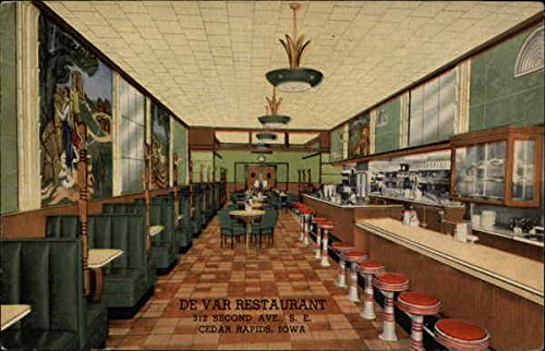Amazon Com Da Var Restaurant Cedar Rapids Iowa Original