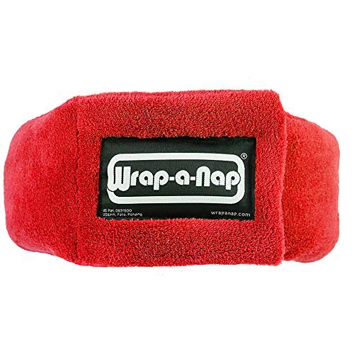 Wrap-a-NapTMTM - Travel Pillow, Eye Mask & Ear Muff in One. Sleep Anywhere on Airplanes, Cars, Camping, Dorm Rooms, in The Office or at Home. Ultra-Soft Neck Pillow & Reading Pillow.