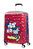 American Tourister Wavebreaker Medium Spinner Luggage Suitcase Minnie Loves Mickey - Medium - Adult
