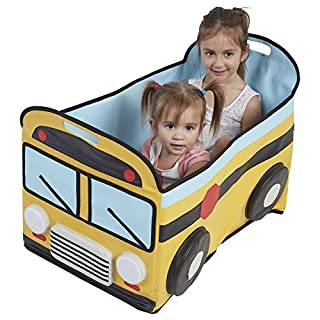 ECR4Kids SoftZone My Safe Space Toy School Bus for Kids