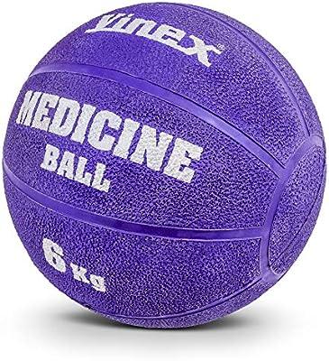 Vinex - Balón medicinal con válvula, goma, 6 kg: Amazon.es ...