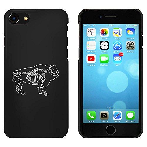Noir 'Squelette de Buffalo' étui / housse pour iPhone 7 (MC00063751)