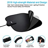 TV Antenna,[2019 Newest] HDTV Antenna Indoor Digital Amplified HD Antennas 60-95 Miles Range Free 4K 1080P VHF UHF Local Channels Amplifier Signal Booster- Support All TV's(16.5ft Coax Cable