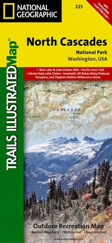 North Cascades National Park Map (North Cascades National Park (National Geographic Trails Illustrated)