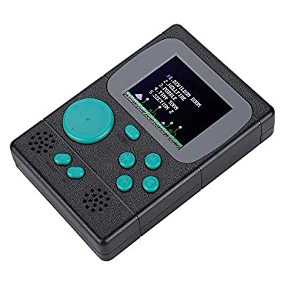 NITRIP ABS Black Green Red White Portable Handheld Game Player Console Mini Pocket Gamepad(Black): Electronics