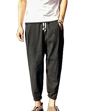 c5d93bb2e Pantalones Harem Pantalon Jogger Hombre Baggy Casual Pantalones De ...