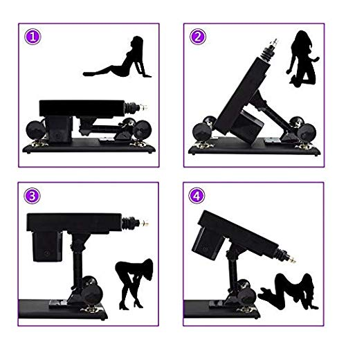 Retractable Women Massage Parts Adult Machine Gun with Strong Power Motor by MachineGuns (Image #5)